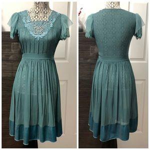 Stunning Teal Dress